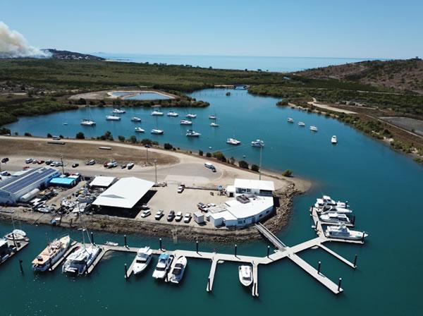 Bowen Marina - Aerial view